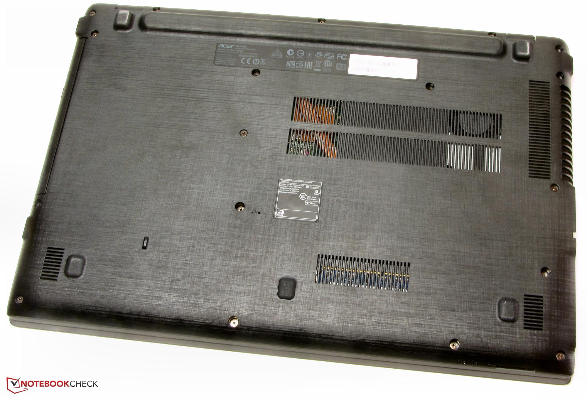 Test Acer Aspire E5 573G Notebook