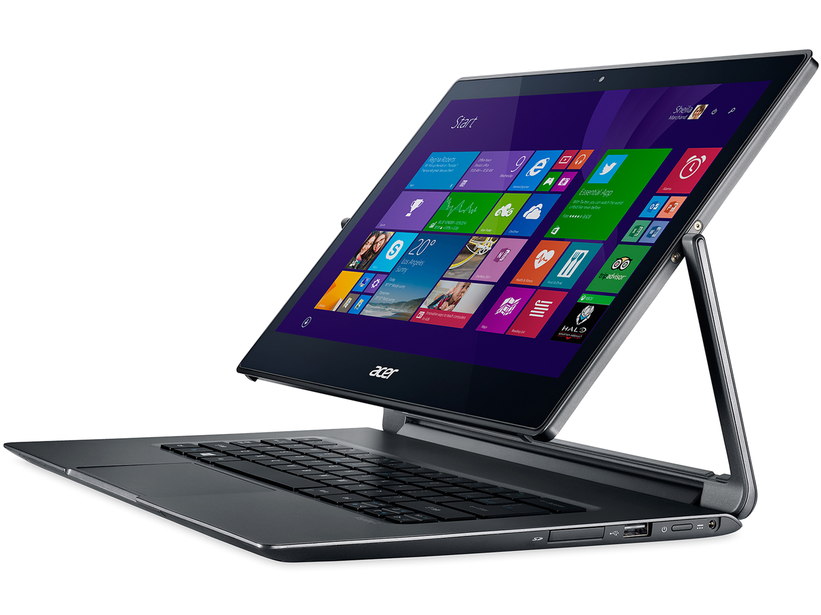 Test Acer Aspire R13 R7 371t 779k Convertible