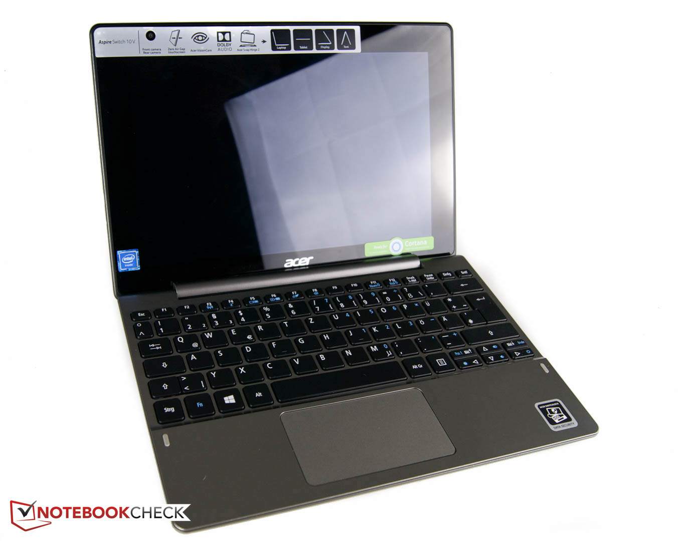 test acer aspire switch 10v sw5 014 1742 notebook. Black Bedroom Furniture Sets. Home Design Ideas