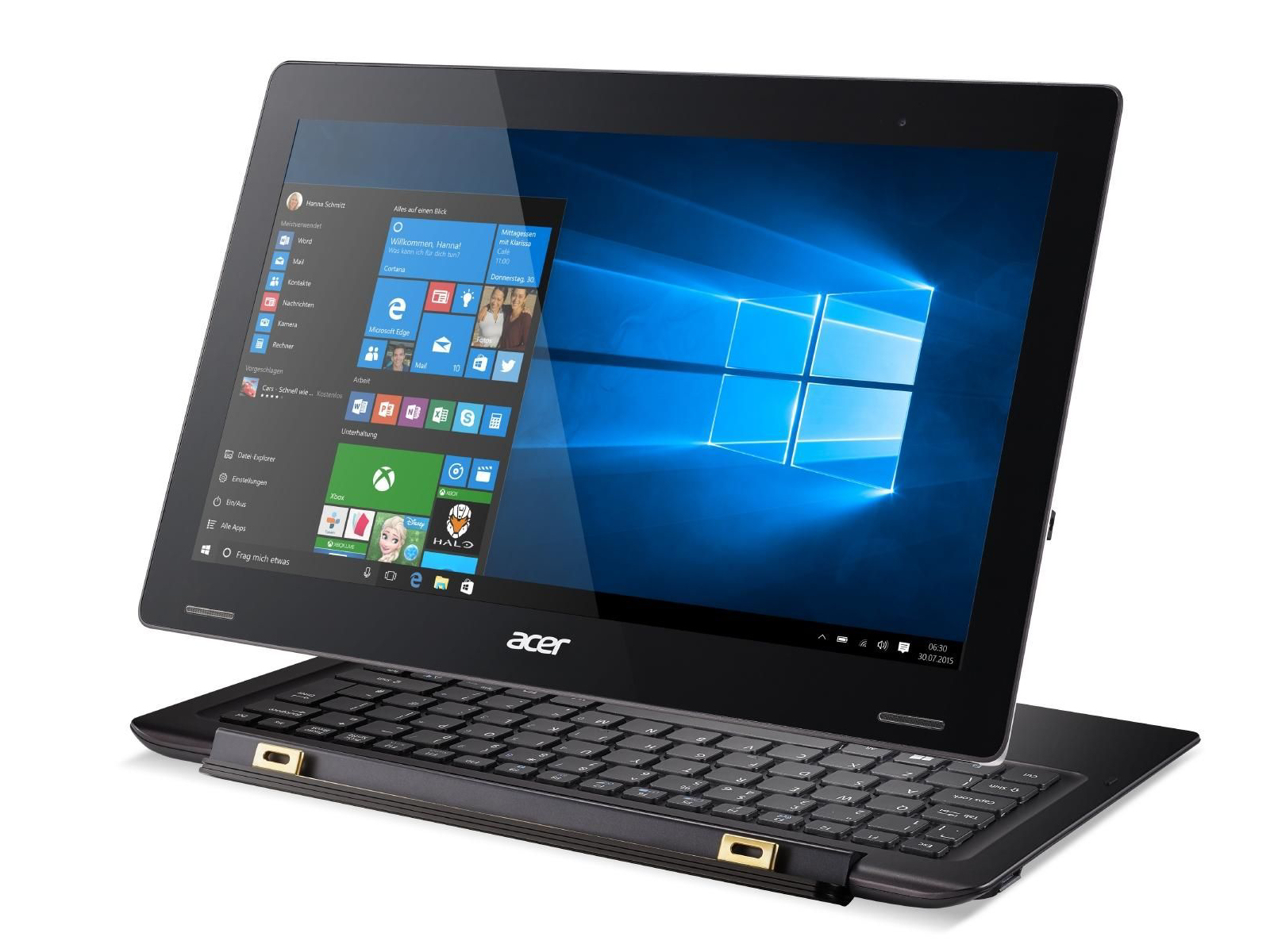 Test Acer Aspire Switch 12S SW7-272-M3A0 Convertible