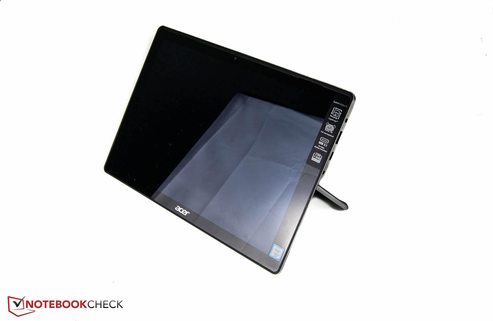 Test Acer Aspire Switch Alpha 12 SA5-271-70EQ Convertible ...