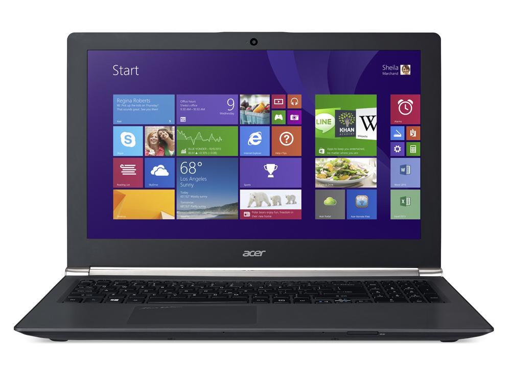 Test-Update Acer Aspire V15 Nitro Black Edition VN7-591G ...