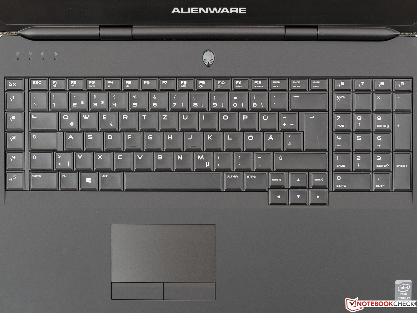 Test Alienware 17 R3 A17 9935 Notebook Notebookcheck