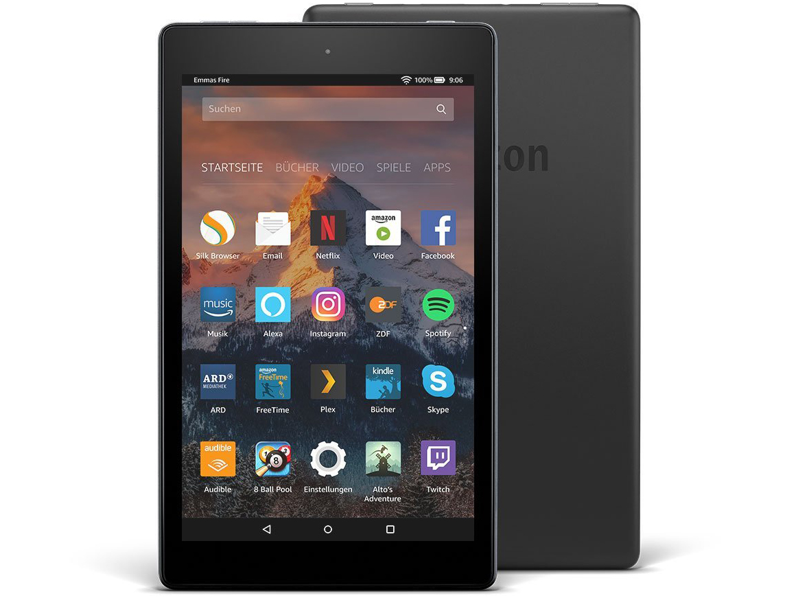 test amazon fire hd 8 2017 tablet tests