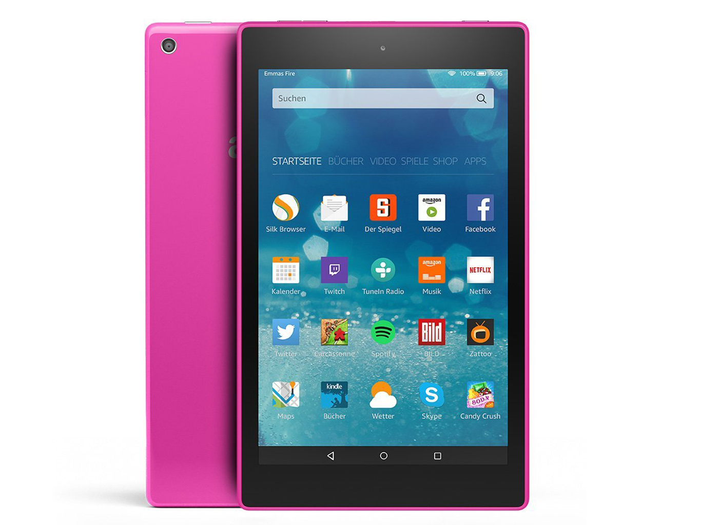 Test Amazon Fire HD 8 (2015) Tablet