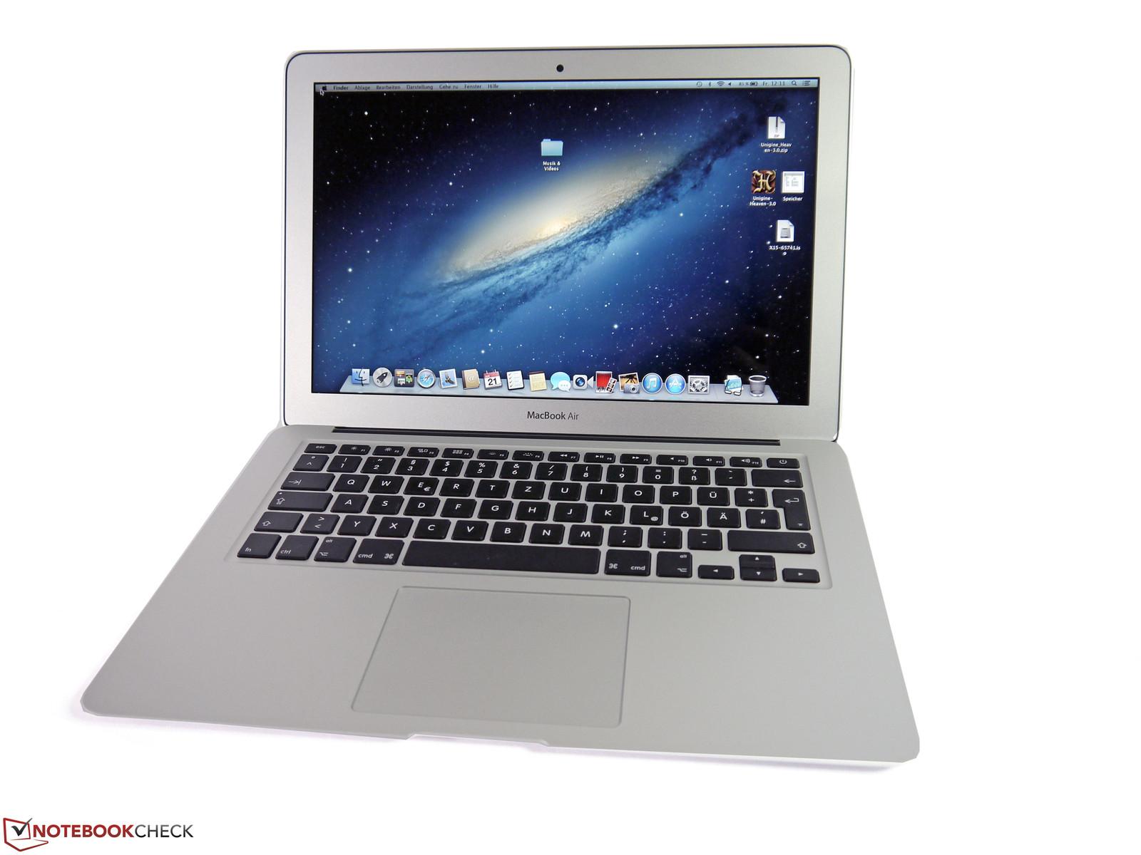 test apple macbook air     notebook