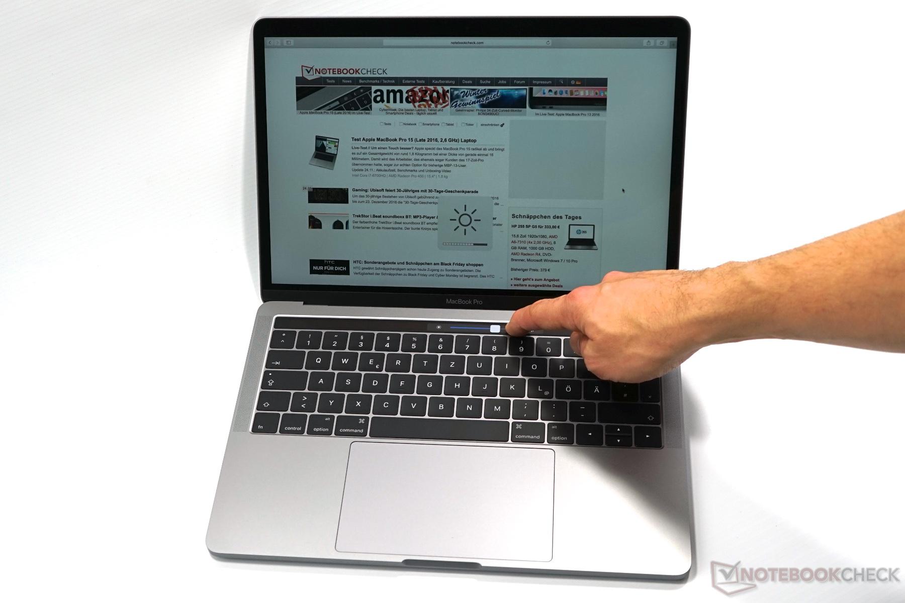 test apple macbook pro 13 mid 2017 i5 touch bar. Black Bedroom Furniture Sets. Home Design Ideas