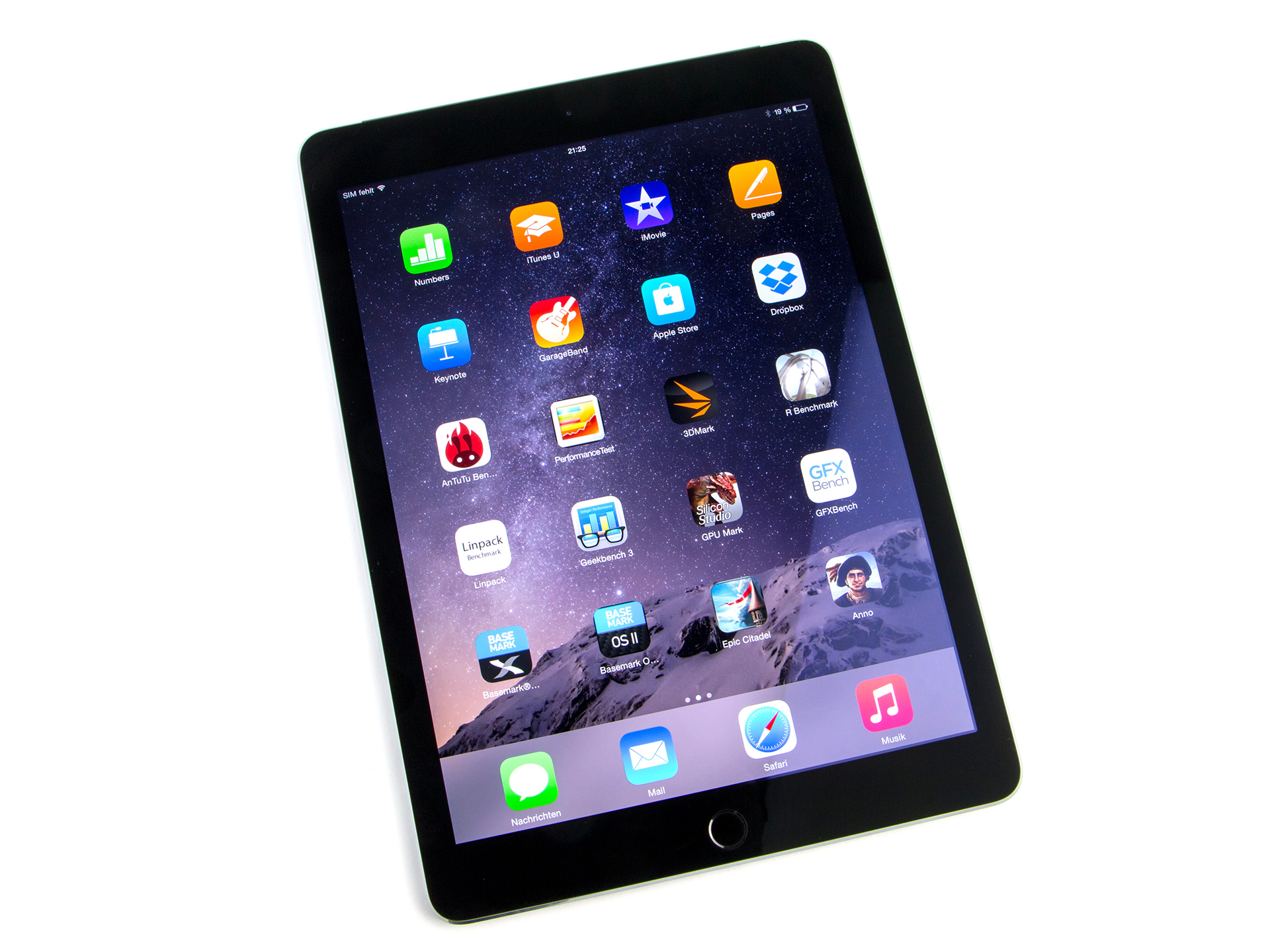Test Apple IPad Air 2 A1567 128 GB LTE Tablet