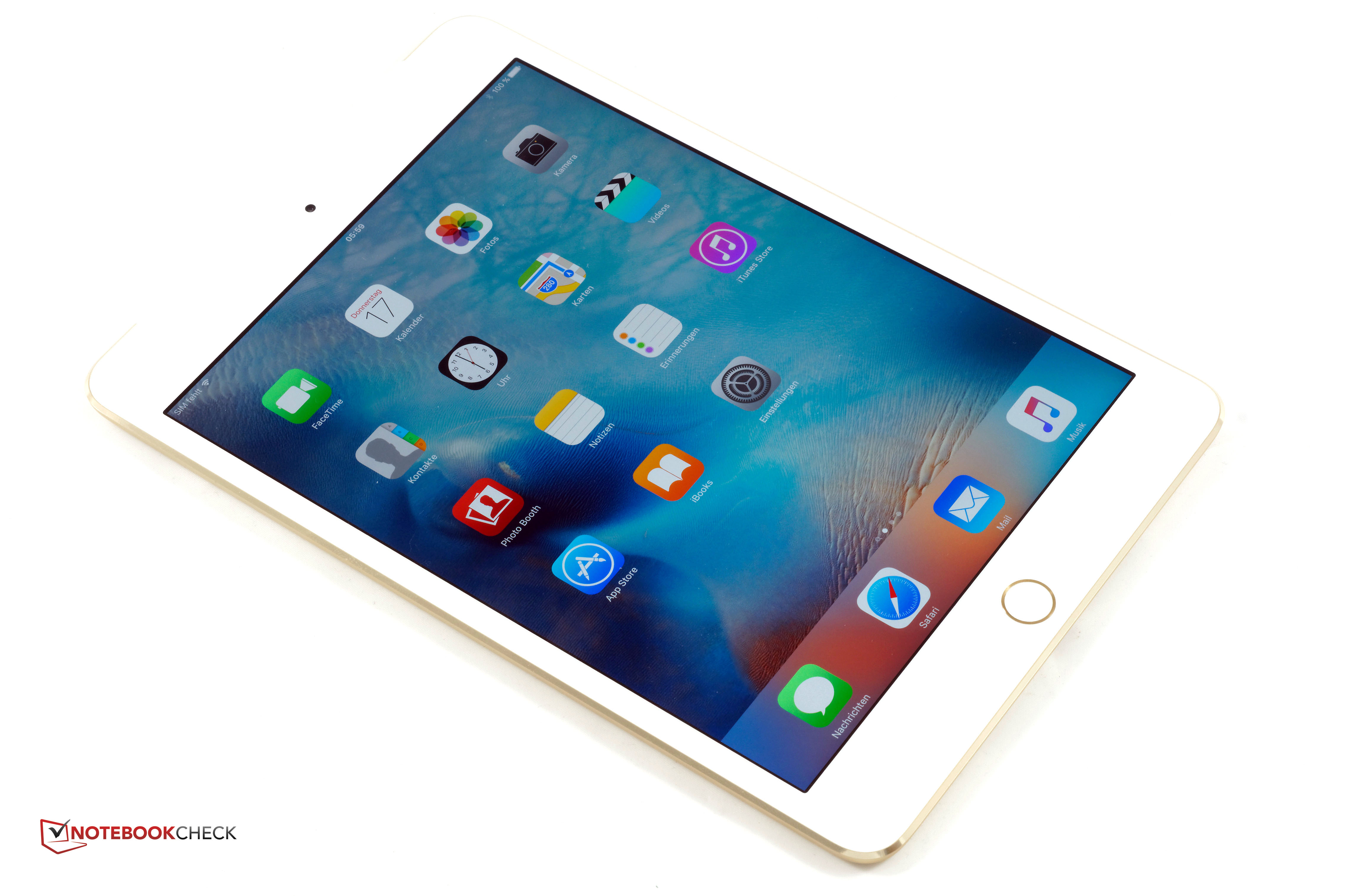 Test Apple iPad Mini 4 Tablet - Notebookcheck.com Tests