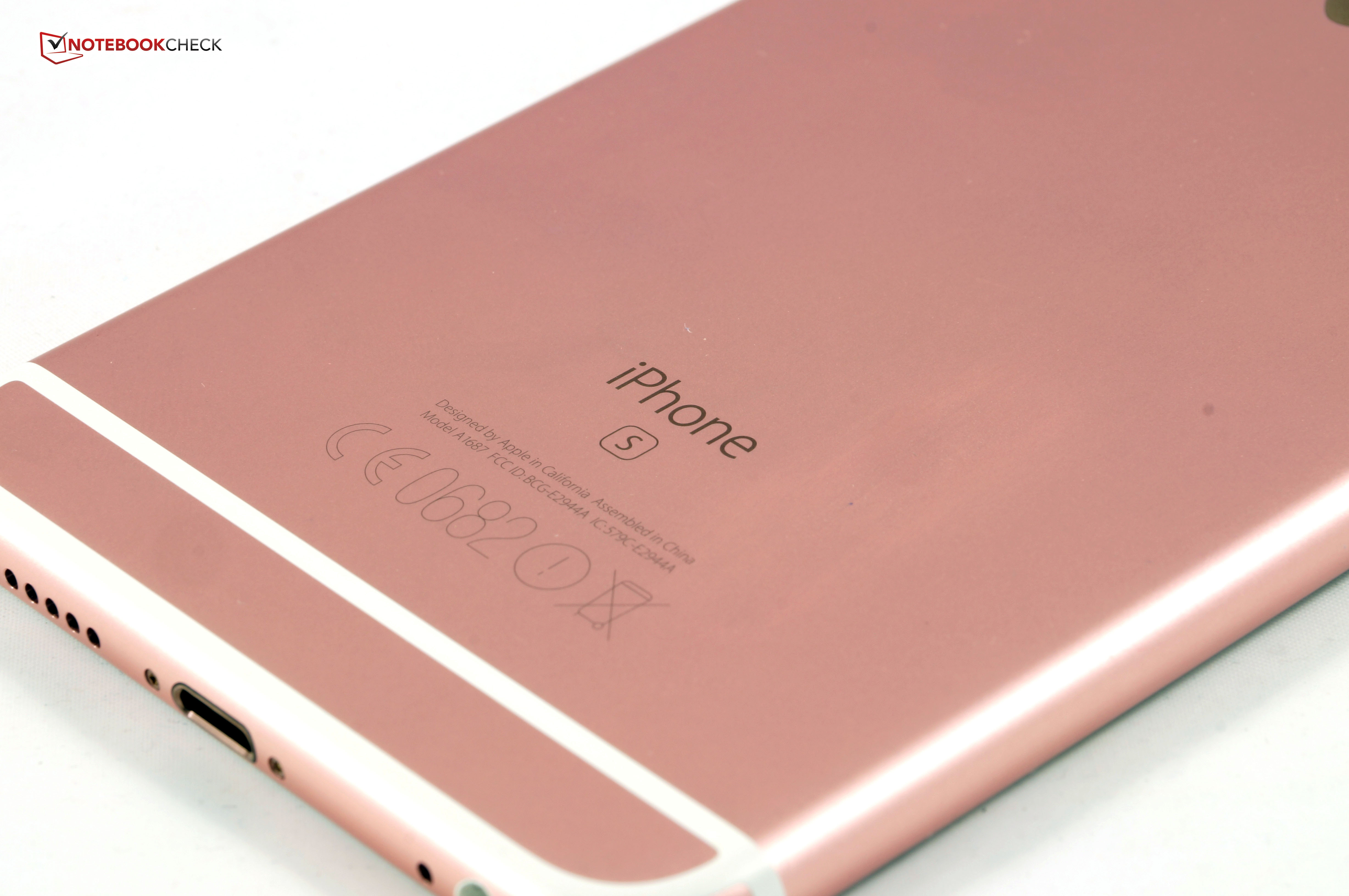 Test Apple iPhone 6S Plus Smartphone - Notebookcheck.com Tests