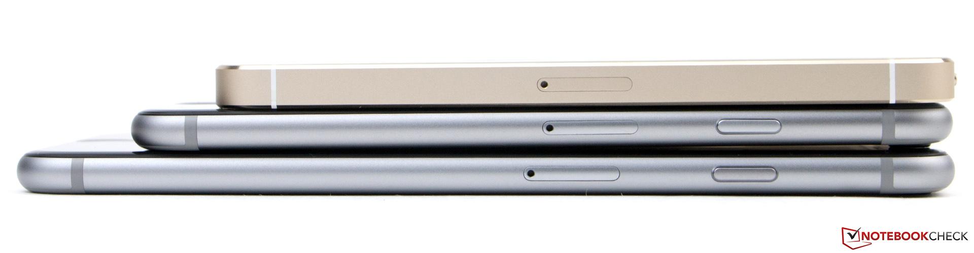von oben iphone 5s iphone 6 und iphone 6 plus