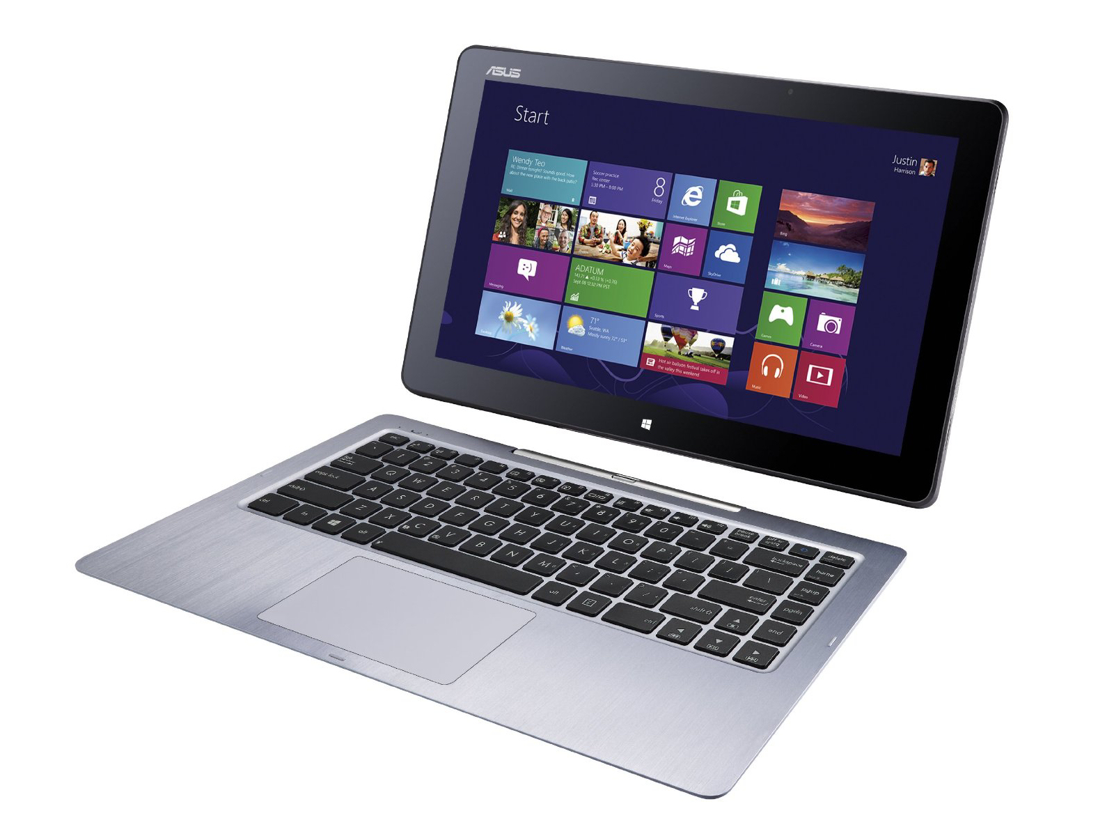 test asus transformer book t300fa convertible   notebookcheck