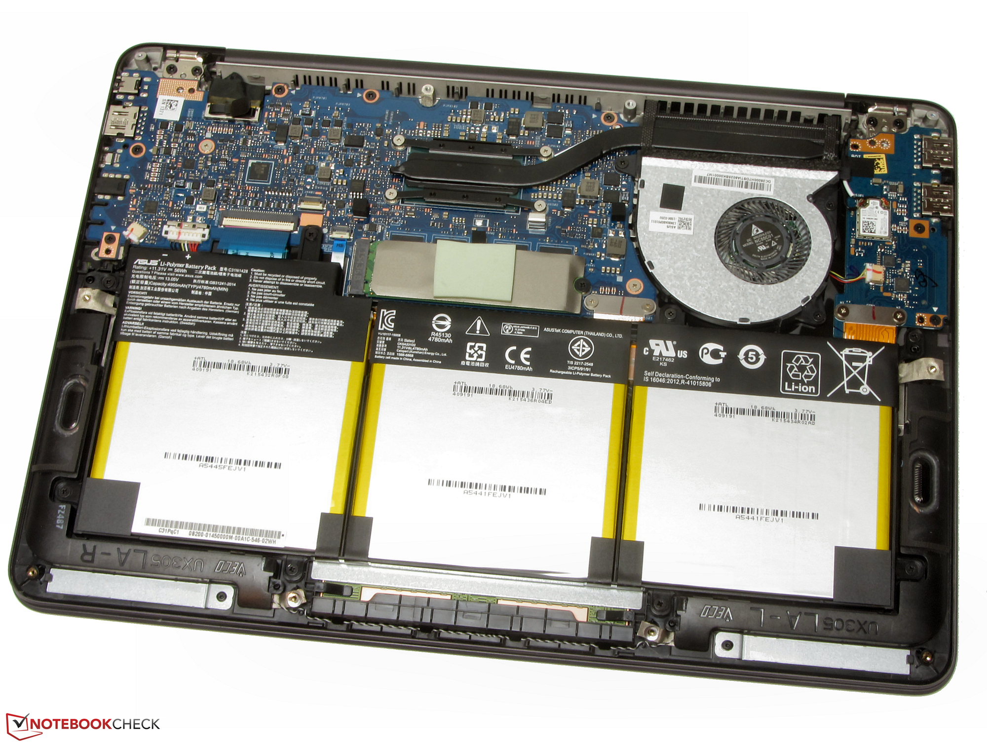 Test Asus Zenbook UX305UA-FC040T Subnotebook ...