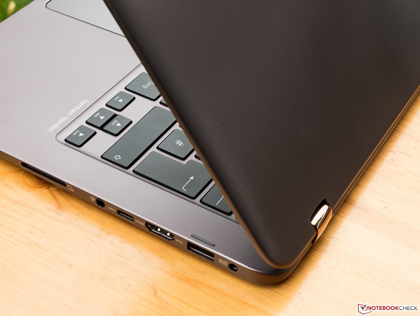 Im Vergleich Asus Zenbook UX360UA Vs HP Spectre X360 13