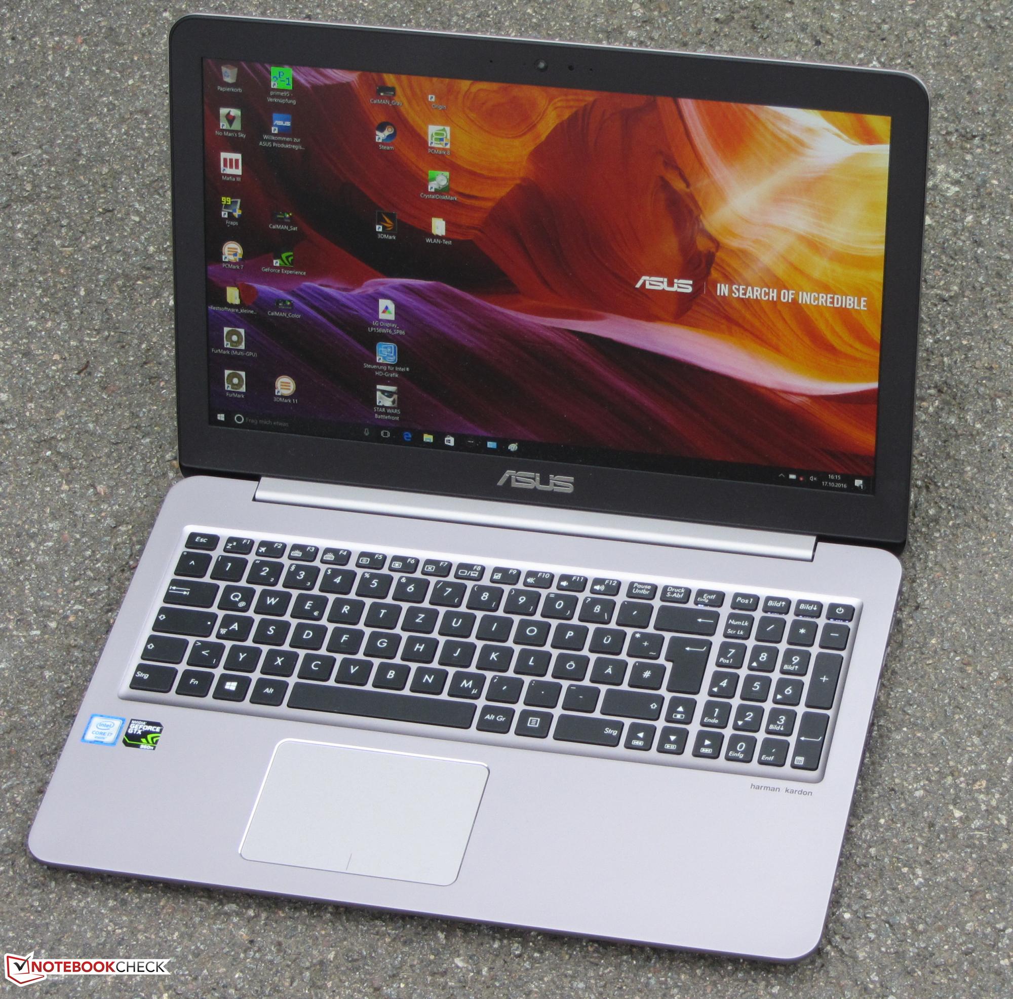 Test Asus Zenbook UX510UW-CN044T Laptop