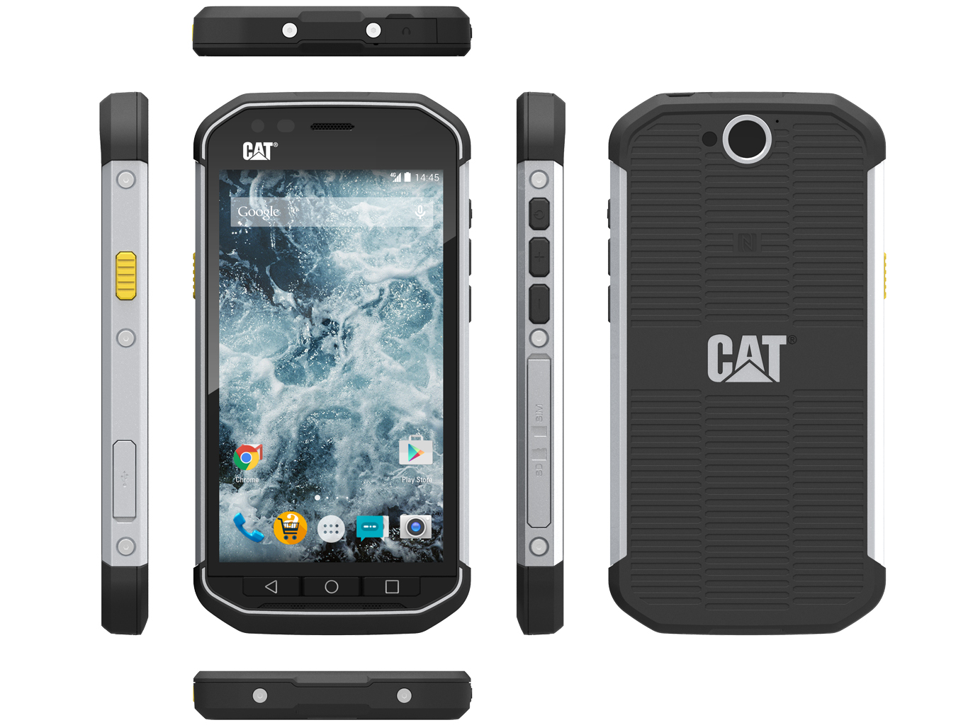 Test CAT S40 Smartphone