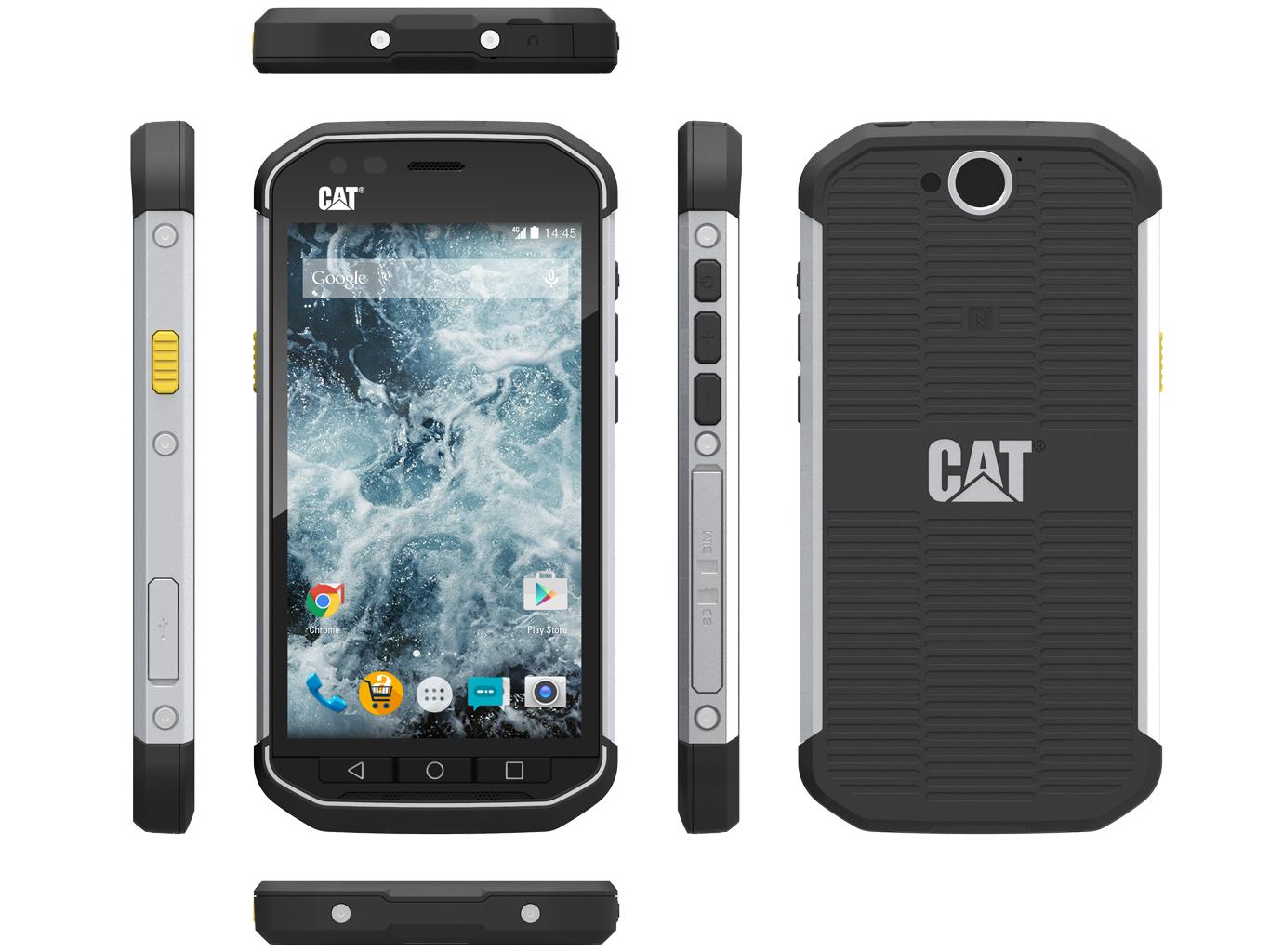 Test CAT S40 Smartphone