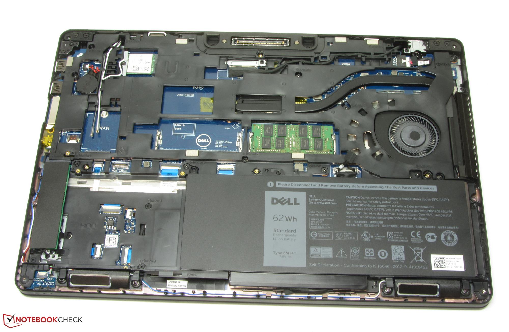 Test Dell Latitude 15 E5570 Notebook