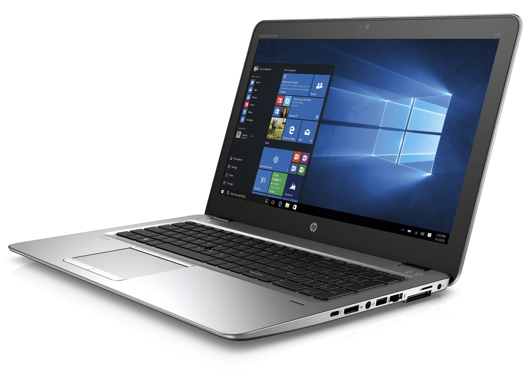 Test HP EliteBook 850 G3 Notebook - Notebookcheck.com Tests