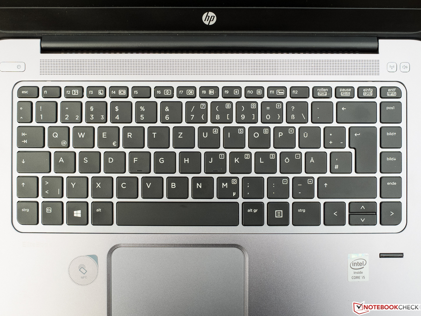 Test Hp Elitebook Folio 1040 G2 Ultrabook Notebookcheck