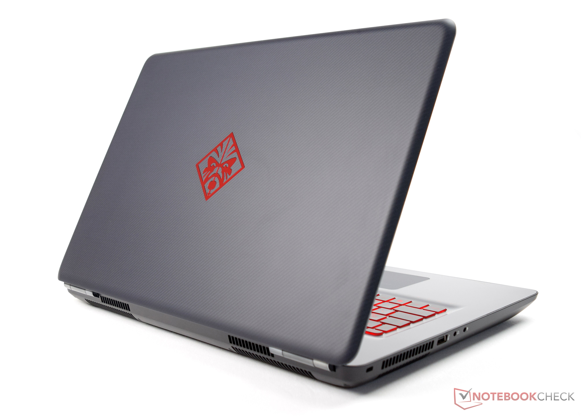 fa8ce9f740c3 Test HP Omen 17 (Pascal) Laptop - Notebookcheck.com Tests