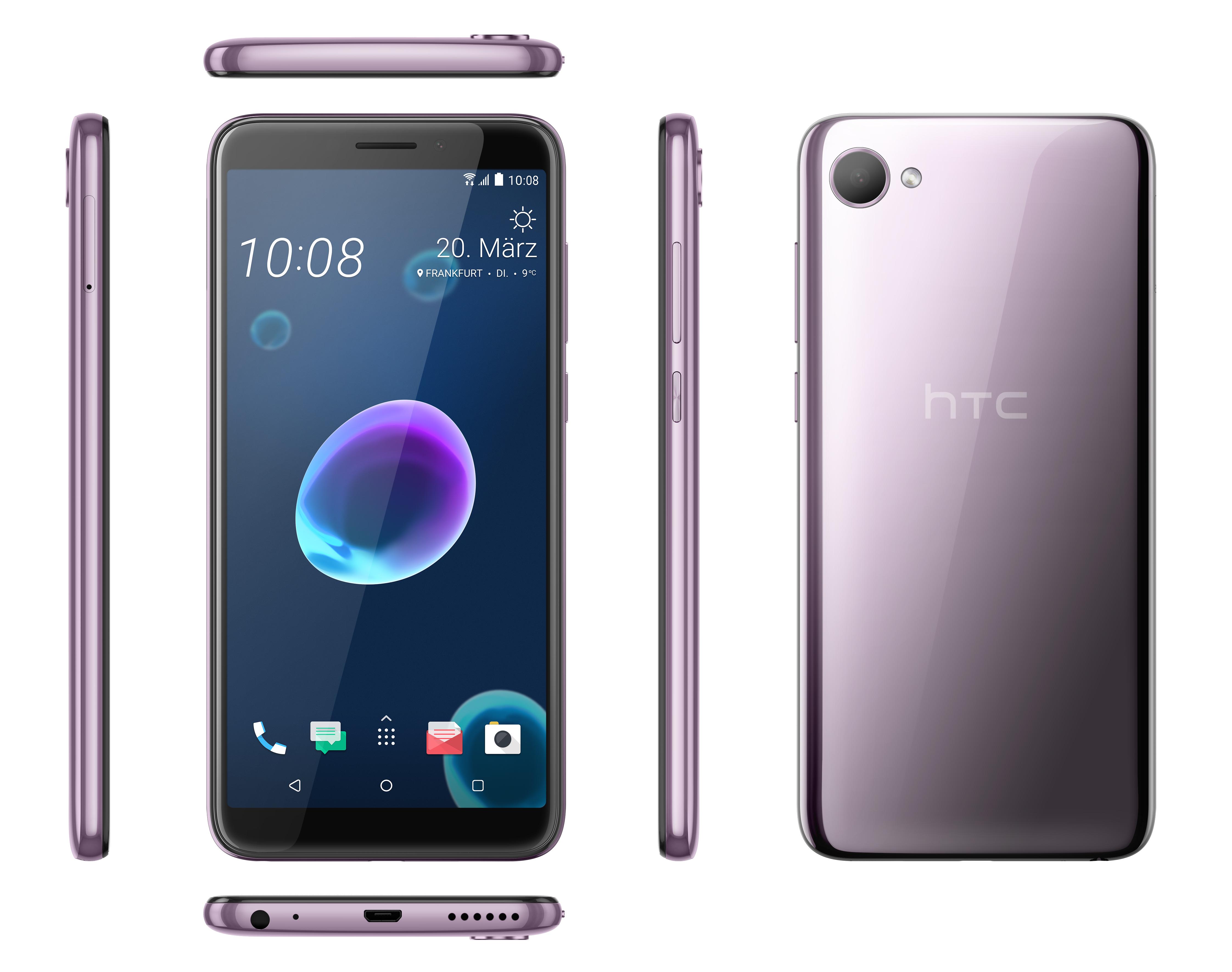 612c8ac77d505 Leider hat das HTC Desire 12 keinen Fingerabdruck-Scanner. full resolution