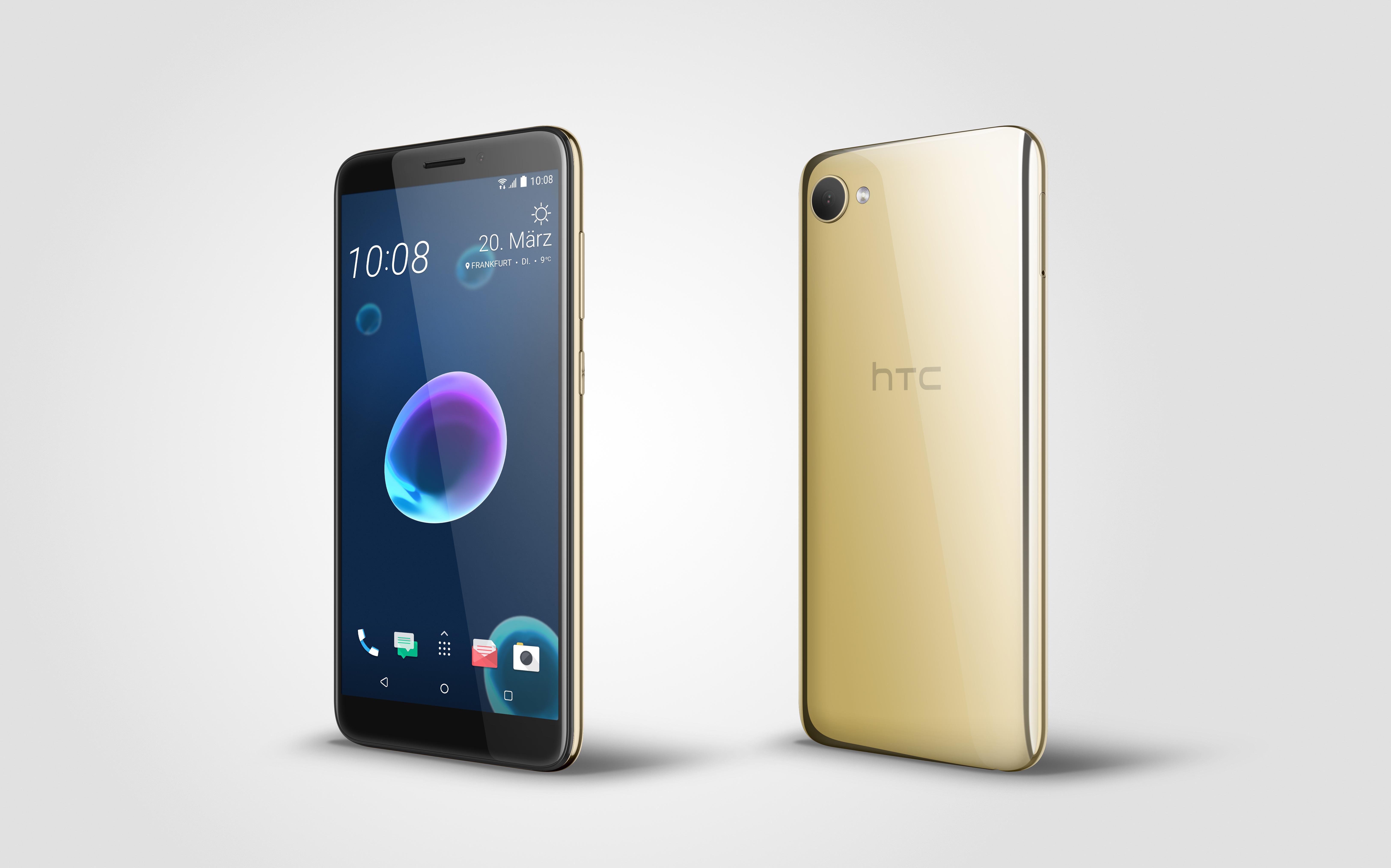 2c98a128175c6 Die Oberfläche der Rückseite des HTC Desire 12 ist schnell voller  Fingerabdrücke. full resolution