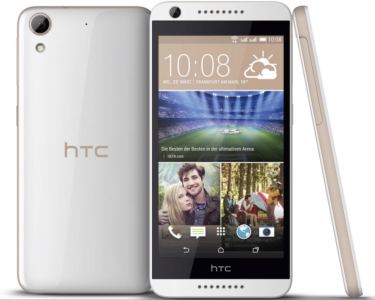 Test HTC Desire 626G dual sim Smartphone