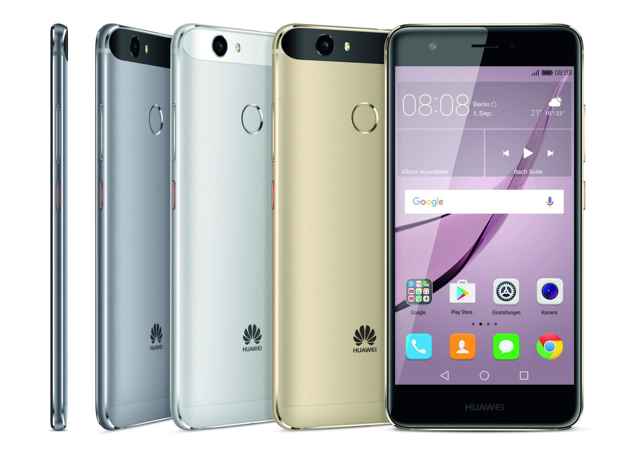 Test Huawei Nova Smartphone Notebookcheck Com Tests