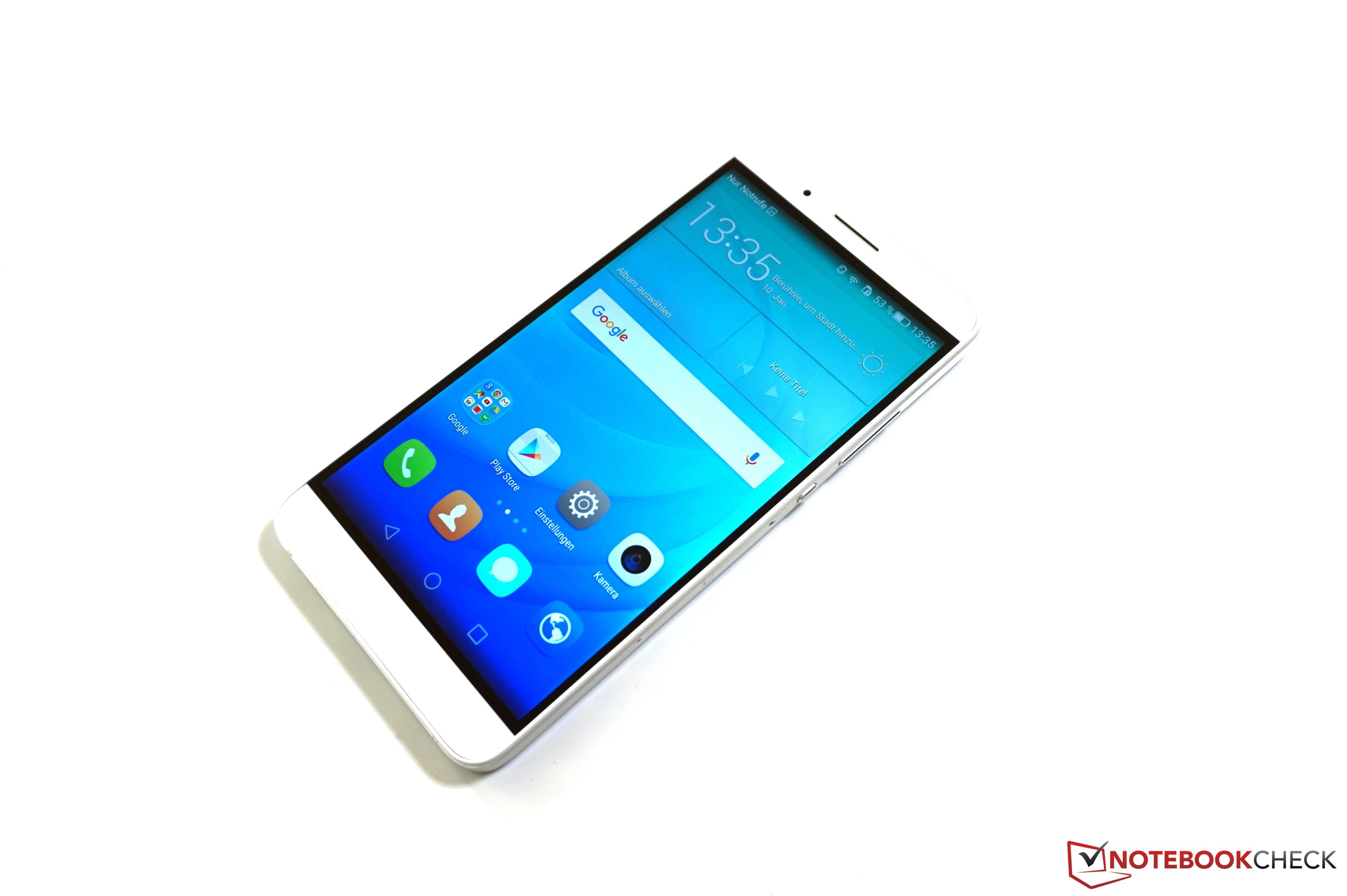 Test Huawei ShotX Smartphone