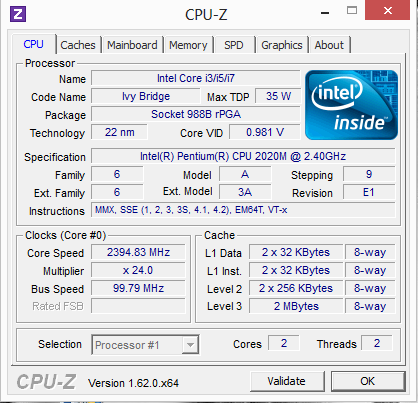 Test Lenovo G500s 59367693 Notebook