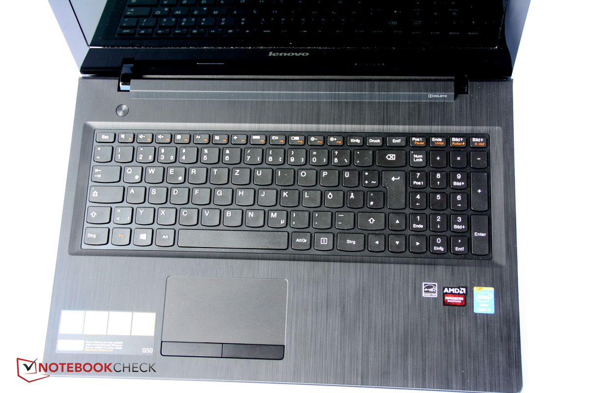 Test Lenovo IdeaPad G50-70 Notebook - Notebookcheck.com Tests