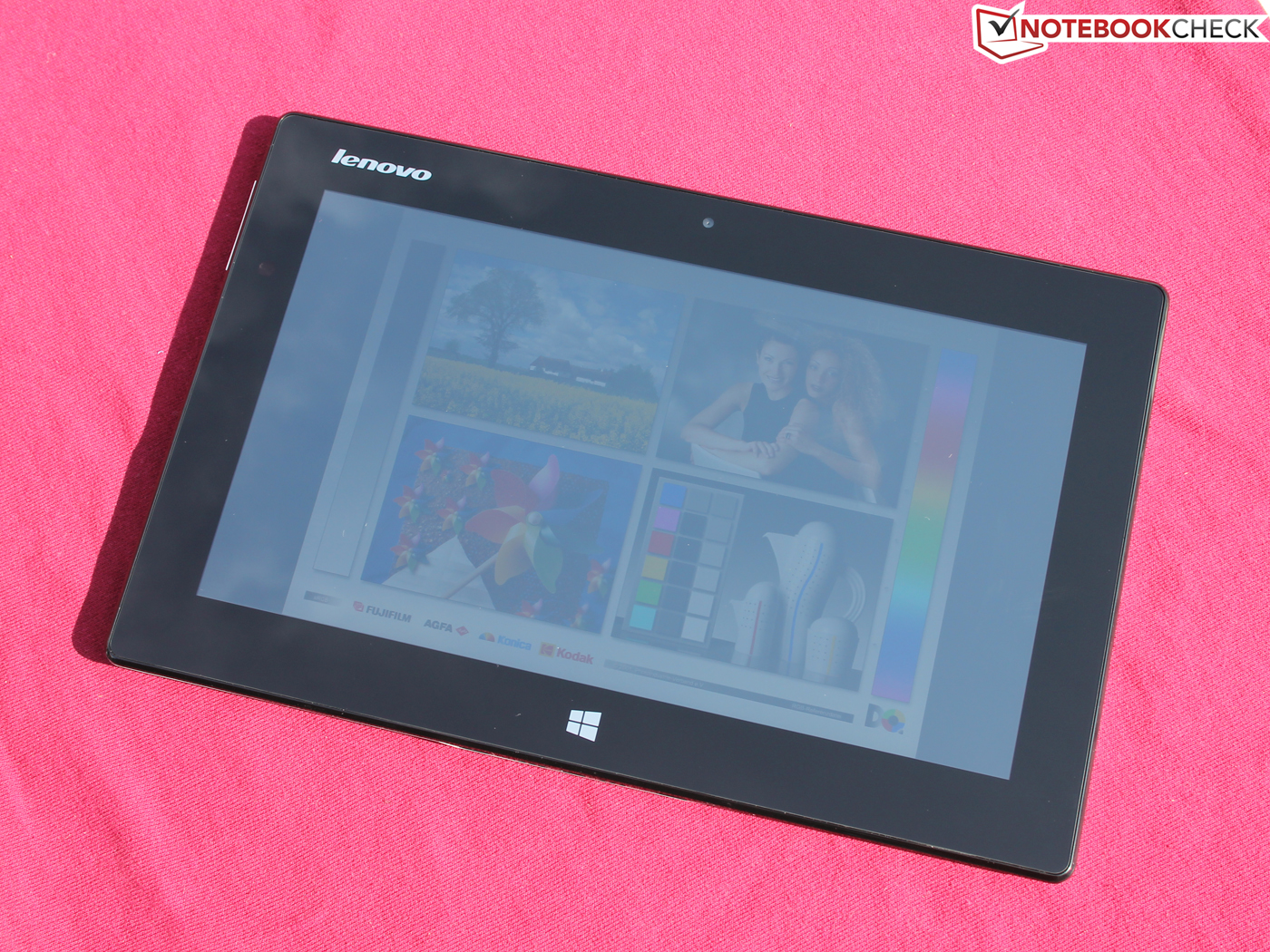 test lenovo ideatab miix 10 64gb tablet notebookcheck. Black Bedroom Furniture Sets. Home Design Ideas
