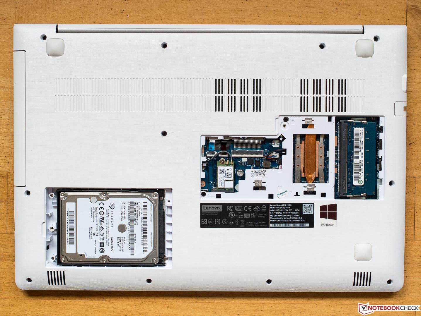 Lenovo E560 Disassembly