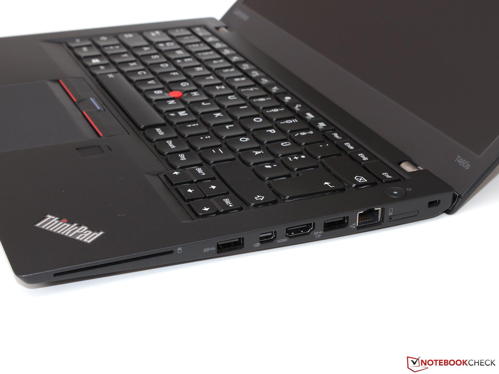Test Lenovo ThinkPad T460s Core I5 Full HD Ultrabook