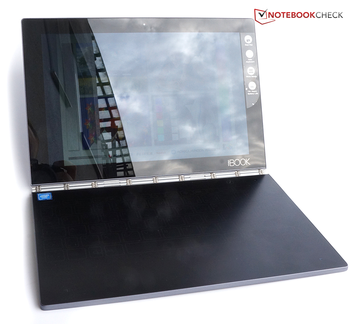 Test Lenovo Yoga Book Android Yb1 X90f Convertible Notebookcheck Com Tests