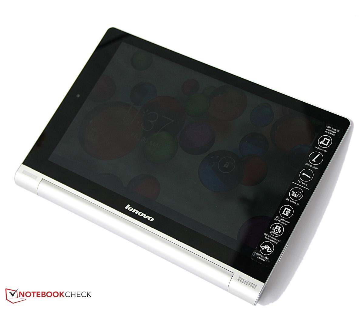 test lenovo yoga tablet 10 hd tablet. Black Bedroom Furniture Sets. Home Design Ideas