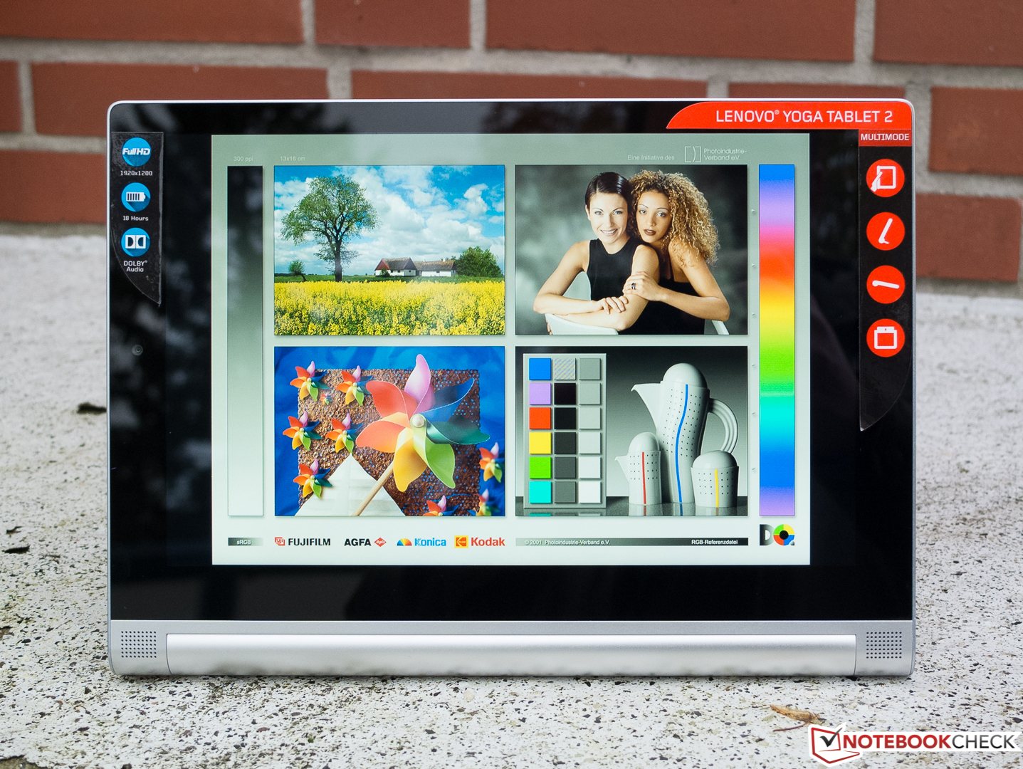 test lenovo yoga tablet 2 10 1 zoll wifi 1050f. Black Bedroom Furniture Sets. Home Design Ideas