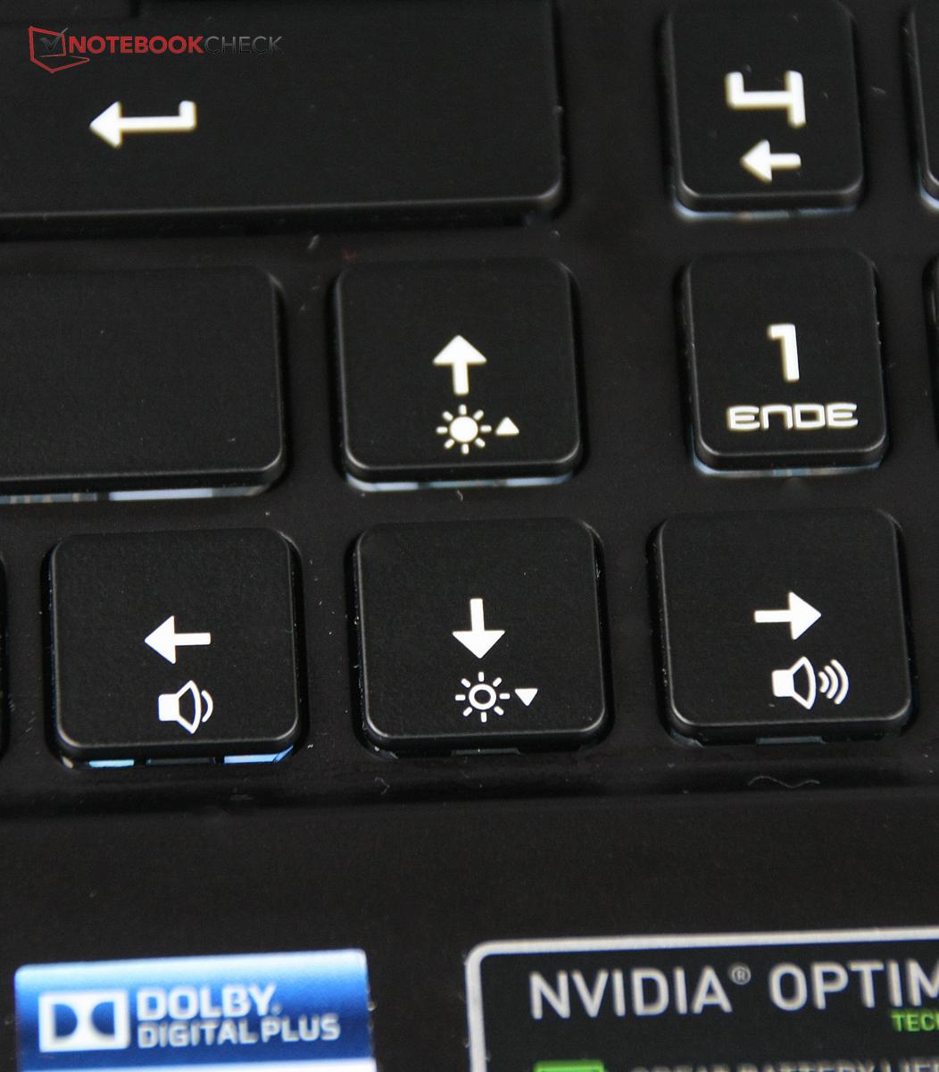 Medion erazer keyboard
