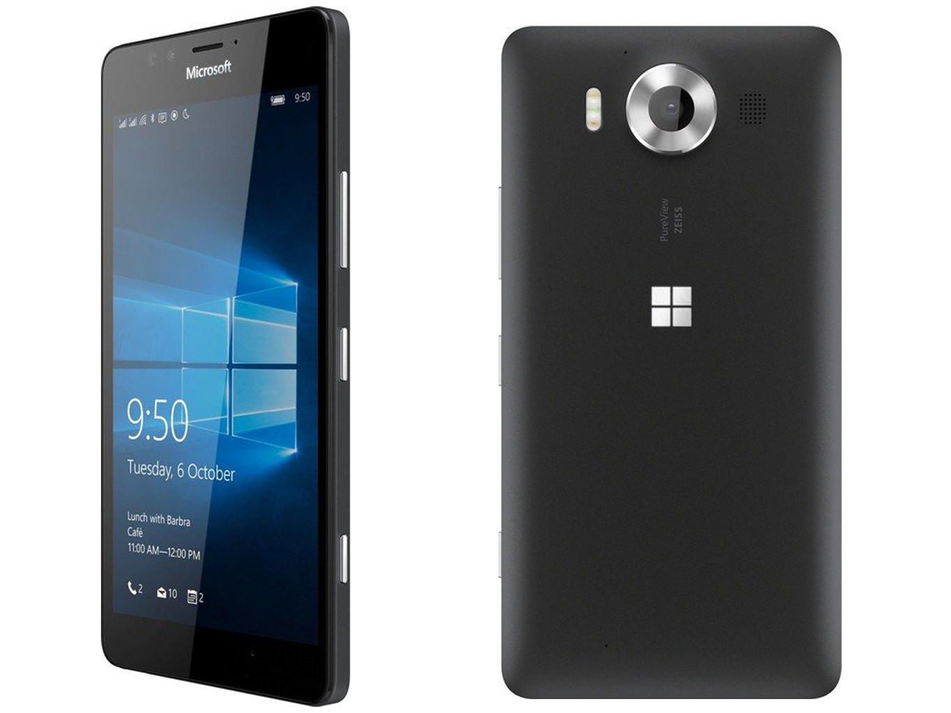 Test Microsoft Lumia 950 Smartphone Notebookcheck Com Tests