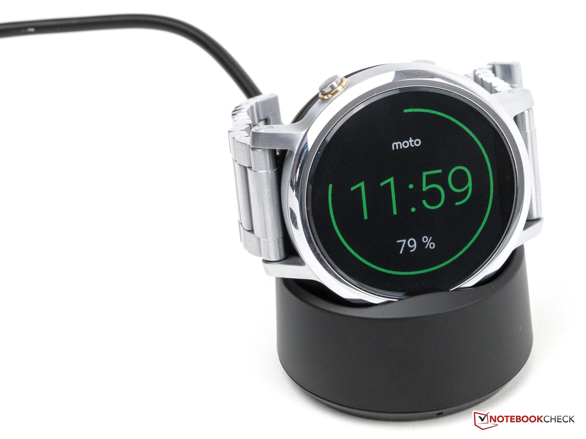 Test Motorola Moto 360 (2015) Smartwatch