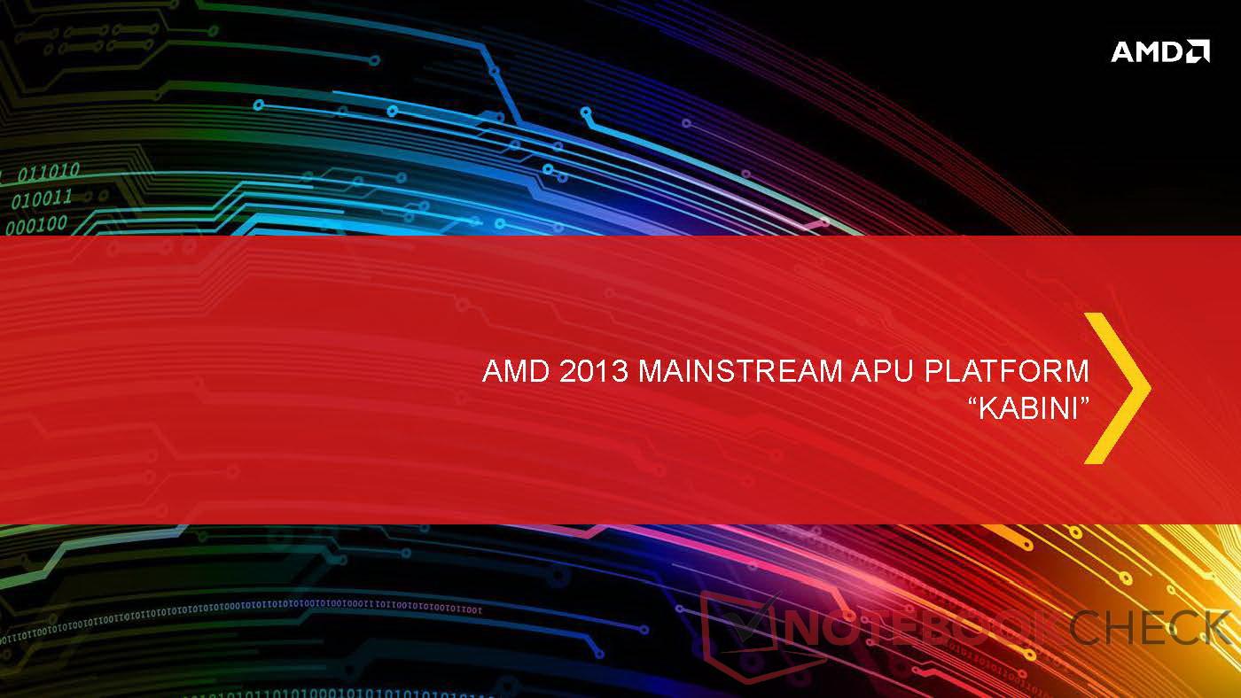 AMD: APUs Kabini und Temash für Notebooks und Tablets ...