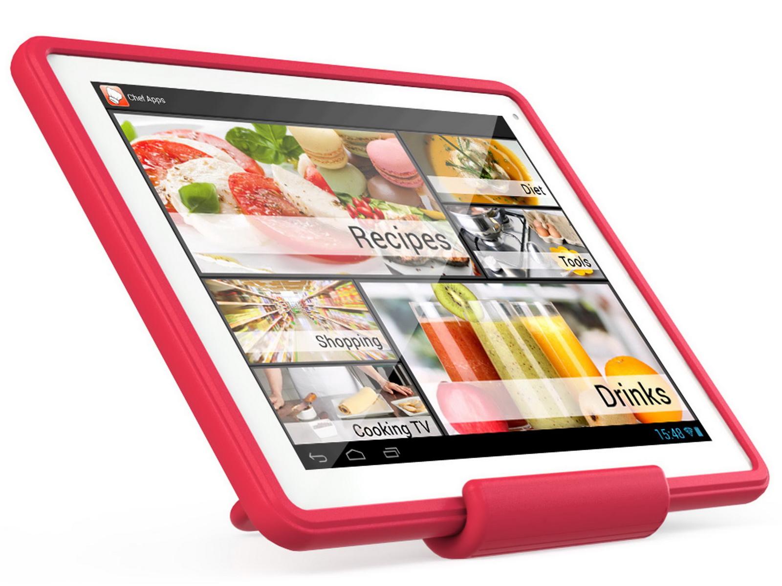 Archos: 9,7-Zoll-Tablet ChefPad für Hobby-Köche ...