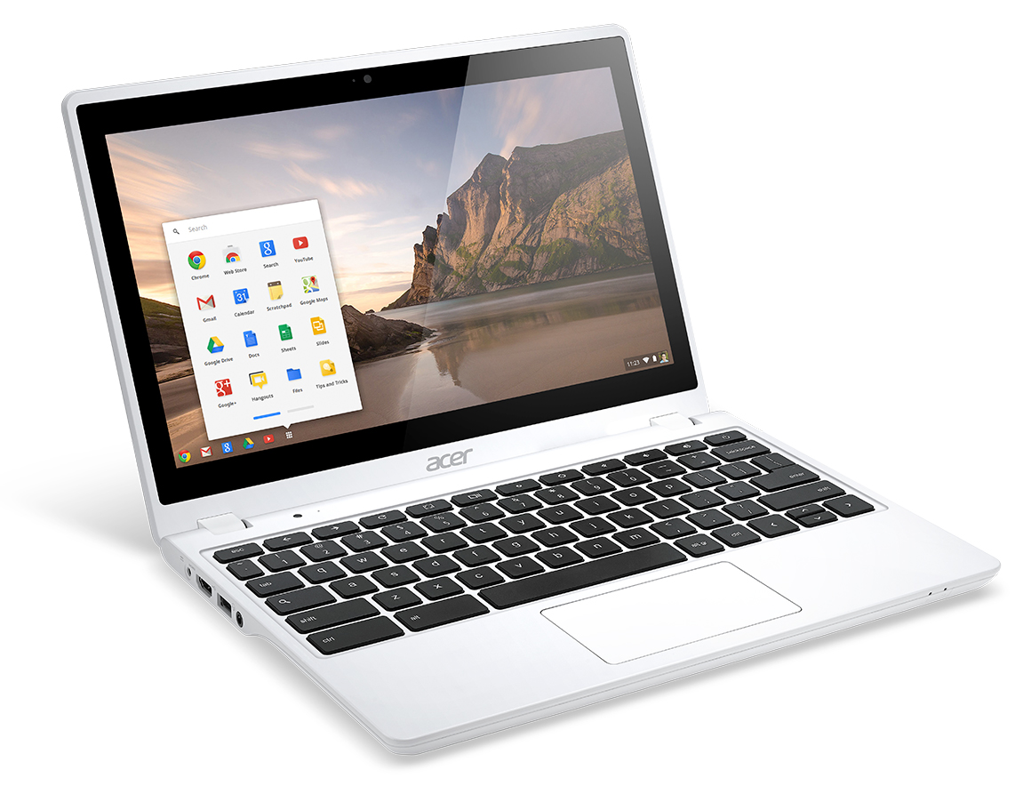 Acer Prasentiert Neues Touch Chromebook Sowie Android