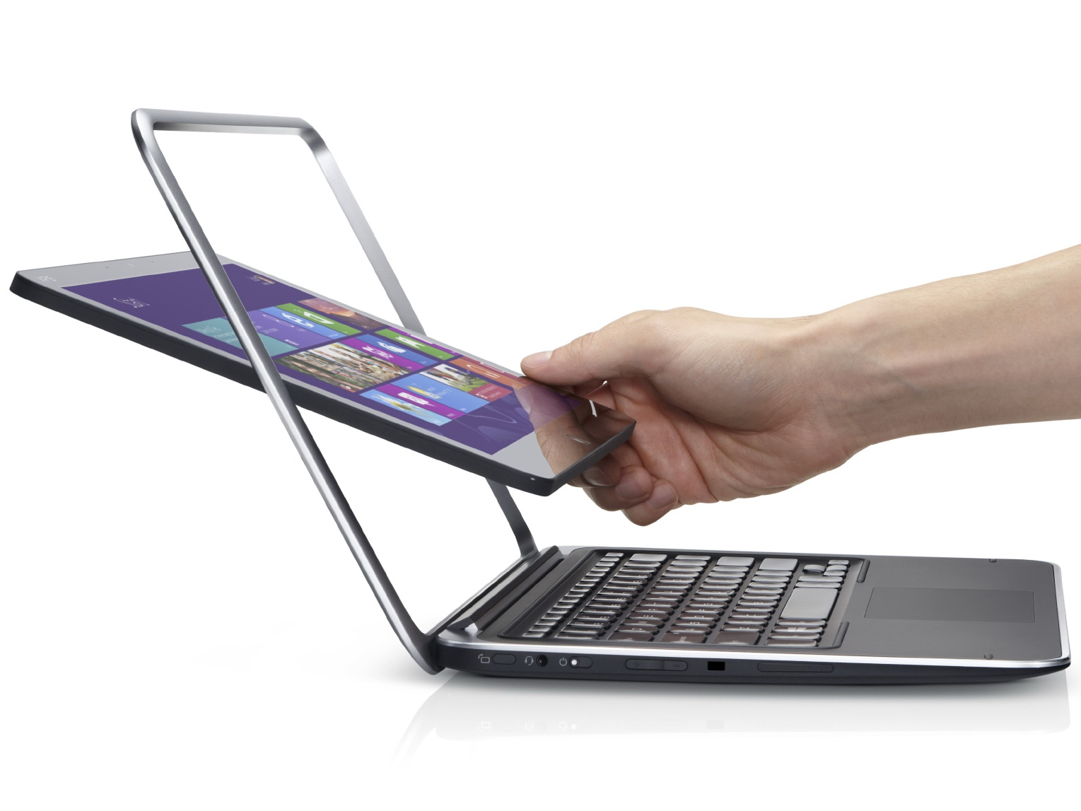 Dell Convertible Ultrabook Xps 12 Mit Haswell Und