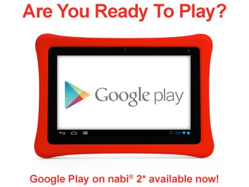 Fuhu: 7-Zoll-Tablet nabi 2 für Kinder erhält Zugriff auf Google Play