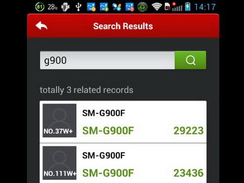 Samsung galaxy s5 sm g900f im antutu benchmark