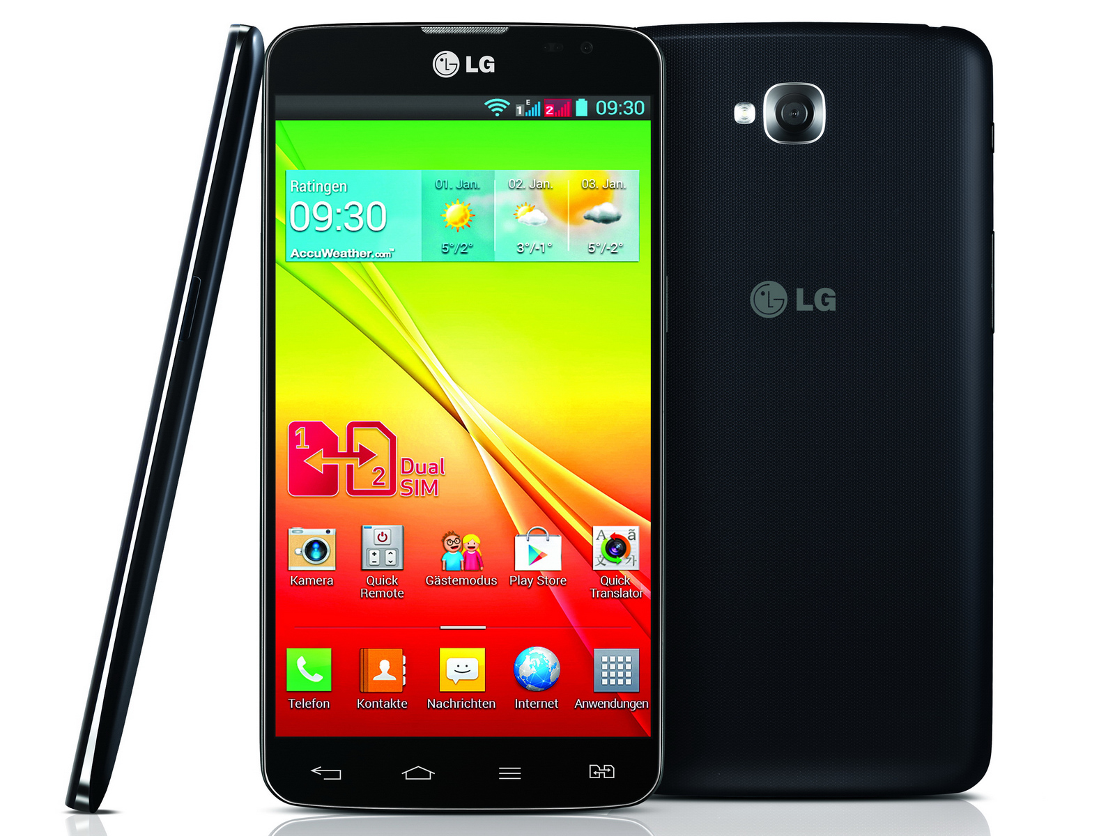 Lg 5 5 Zoll Smartphone Lg G Pro Lite Dual Auch In