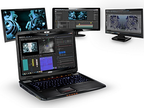 Mobile workstations msi zeigt cad workstation notebooks for Mobel cad programm