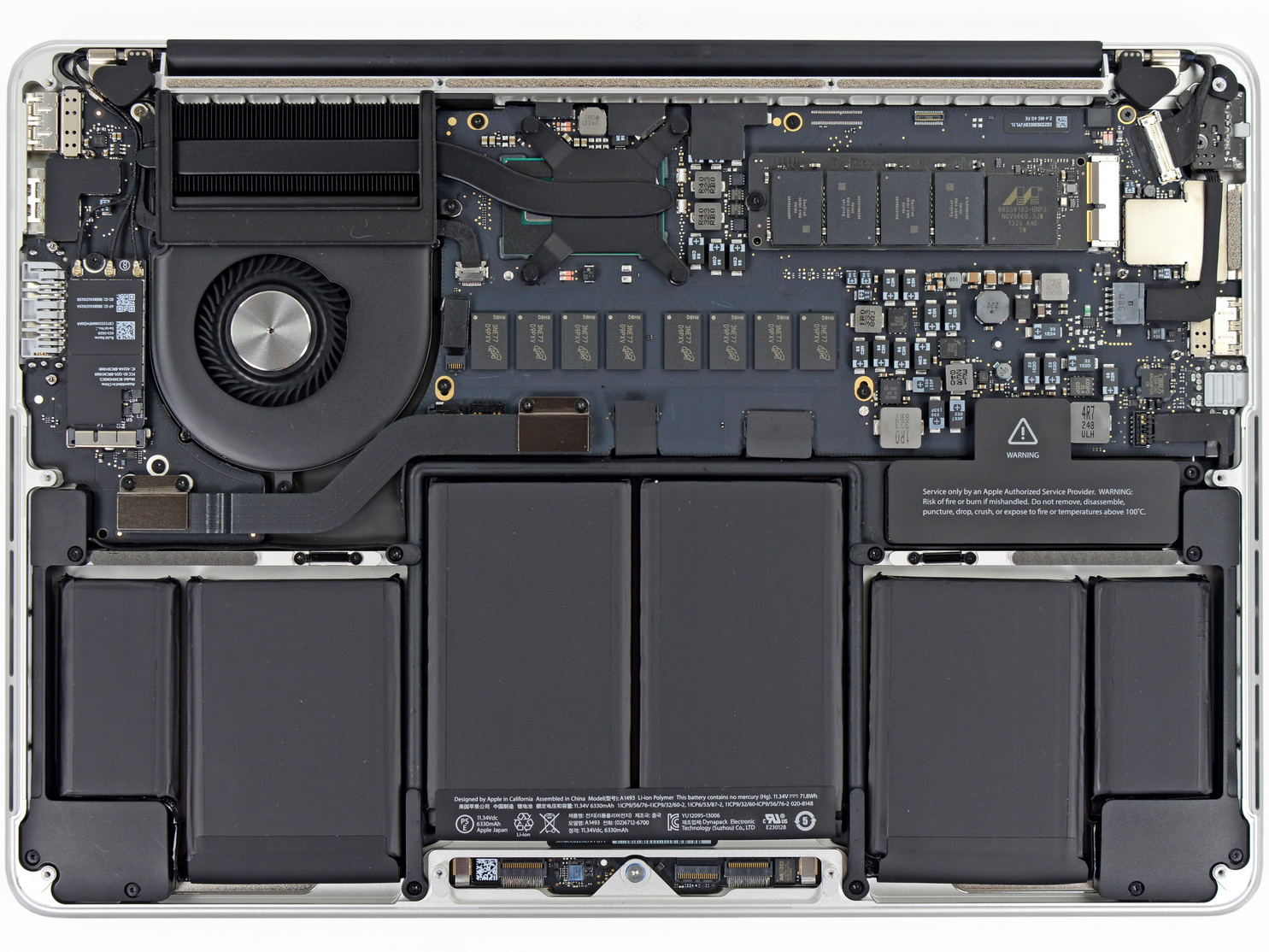 Image result for macbook pro teardown